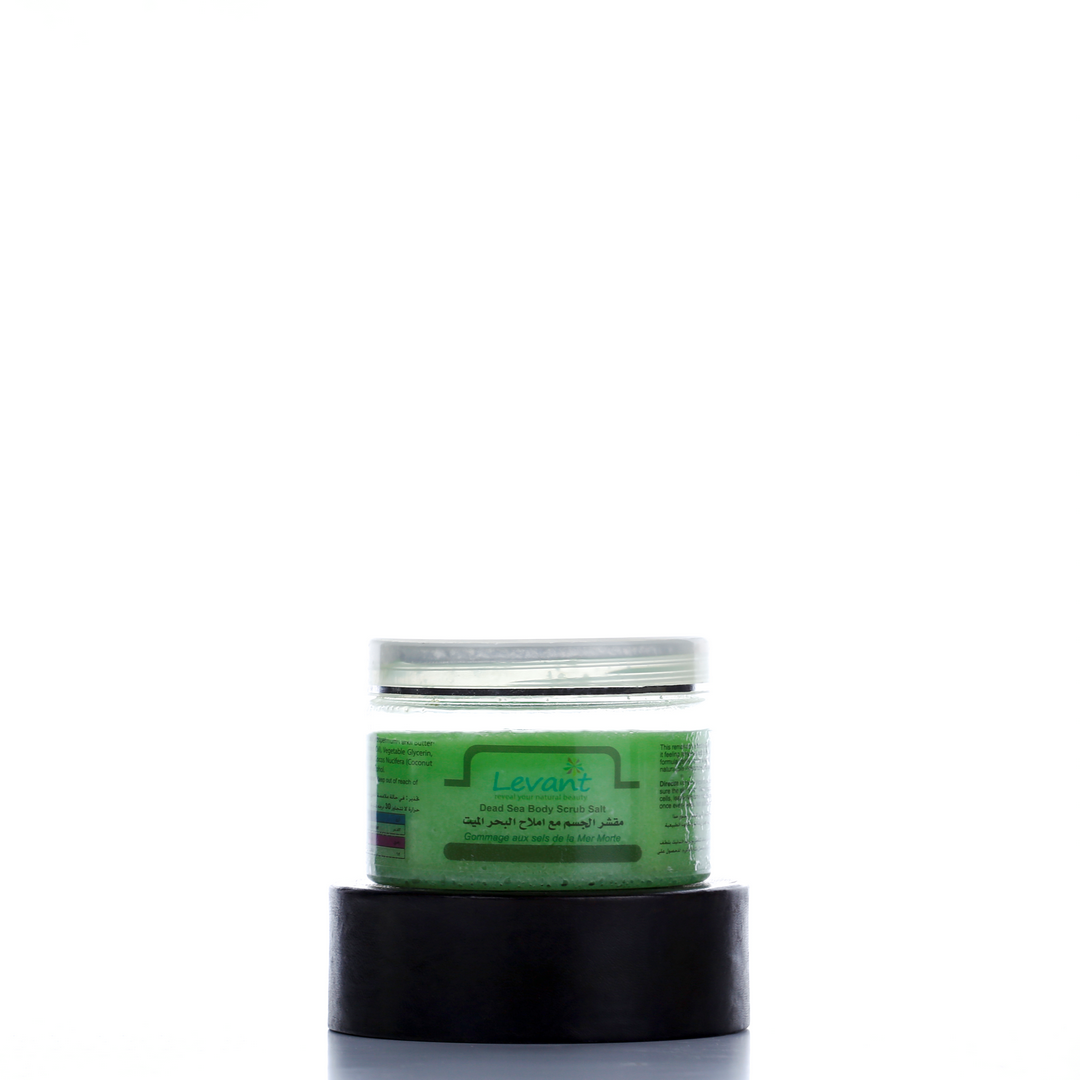 Dead Sea Salts Body Scrub – Green Apple